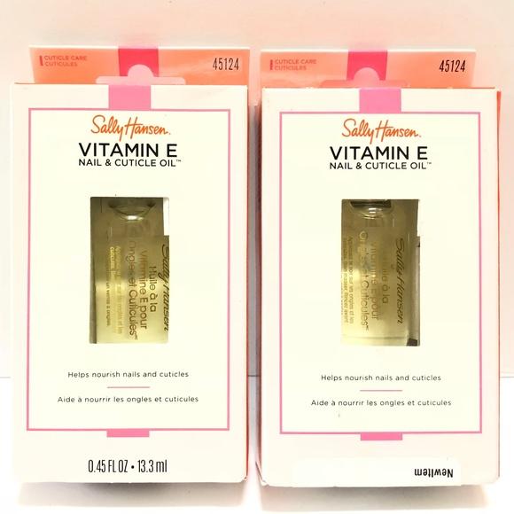 Sally Hansen Other - 3/$27 2pk Sally Hansen Vitamin E Nail Cuticle Oil